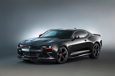 Chevrolet Camaros Impressed Everyone at SEMA