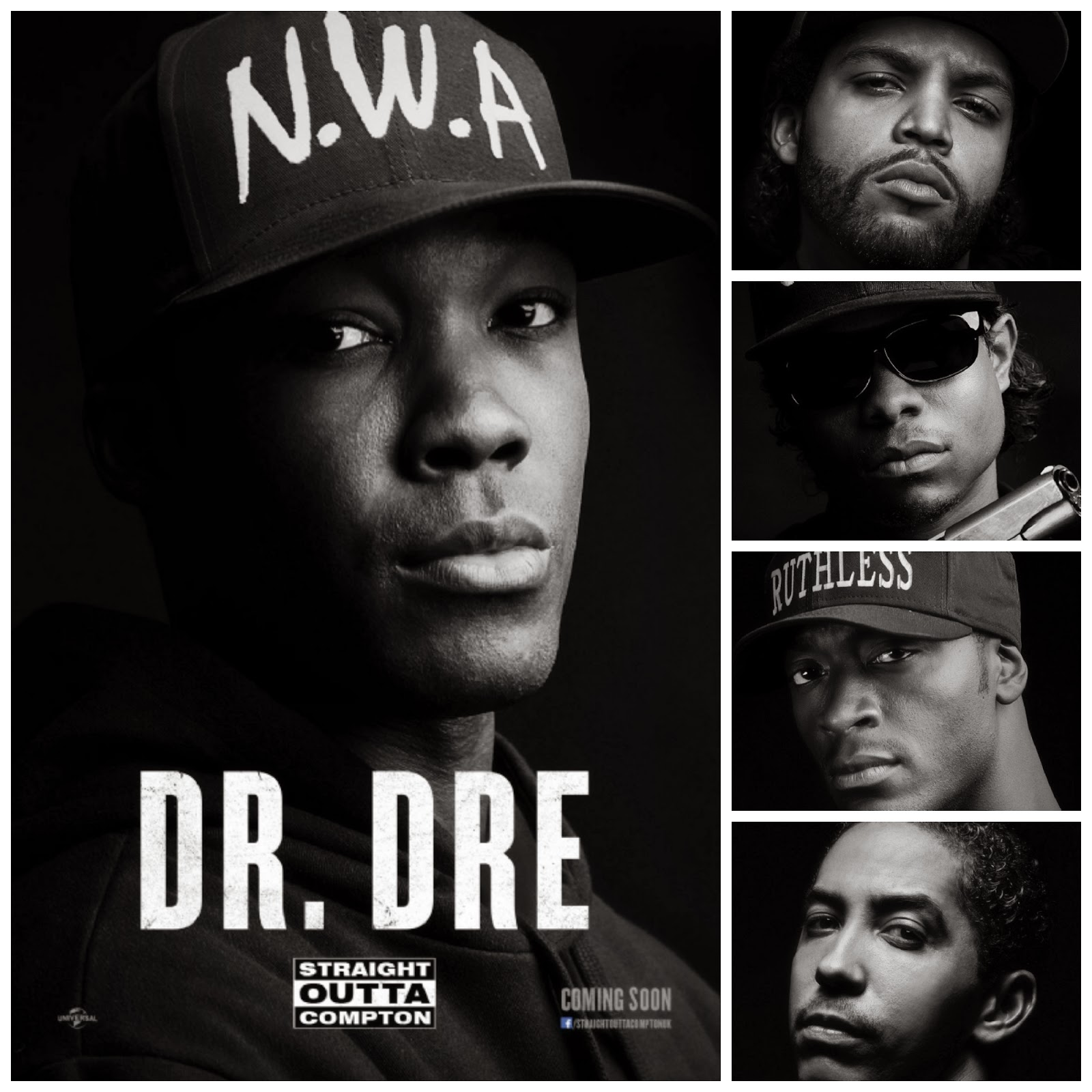 New #StraightOuttaCompton Trailer & Character Posters