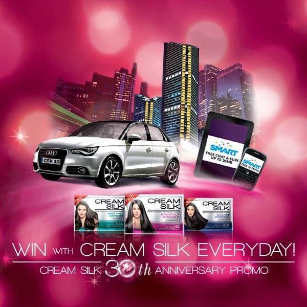 Cream Silk 30th Anniversary Promo