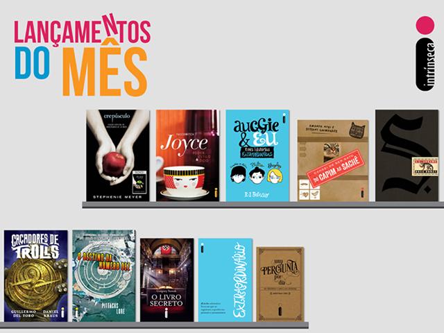Lançamento de Livros - Novembro / Editora Intrínseca