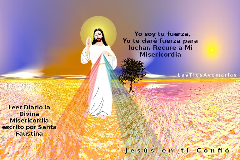 imagen de jesus con frase