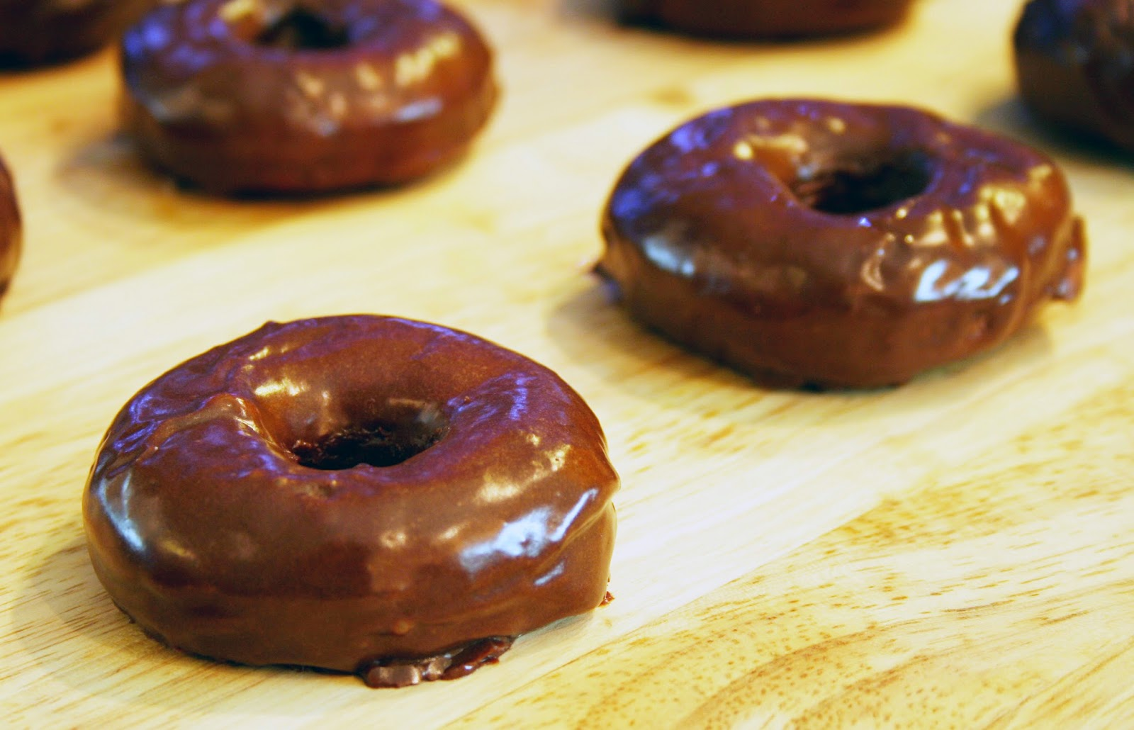 Peppermint Patty Doughnuts
