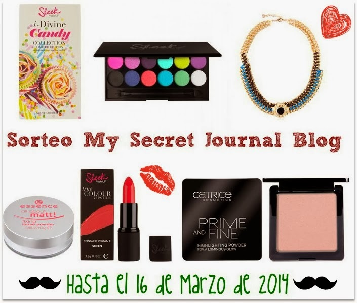 Sorteo en My Secret Journal!!