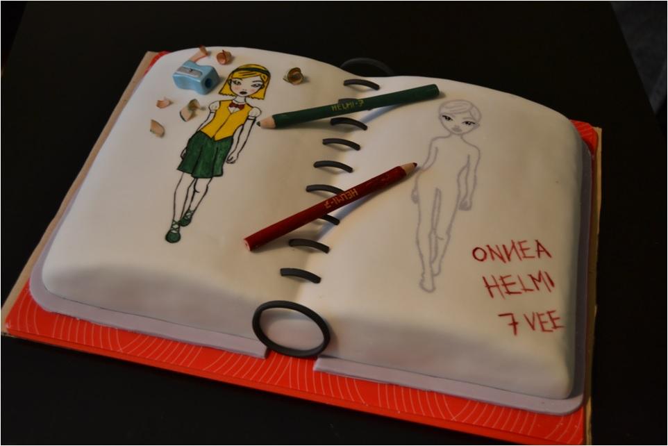Sweet Dreams And Sweet Living Topmodel Birthday Cake