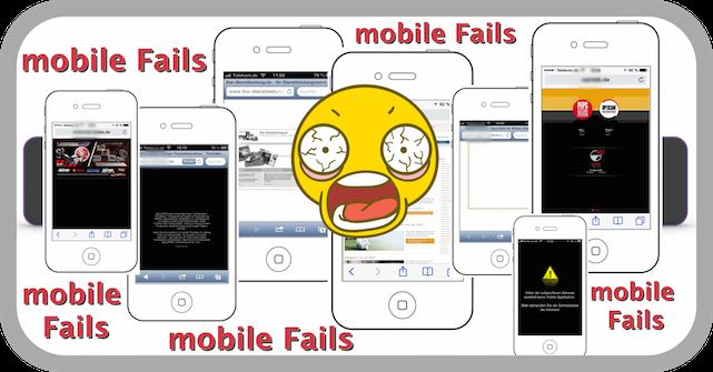 mobile FAILS