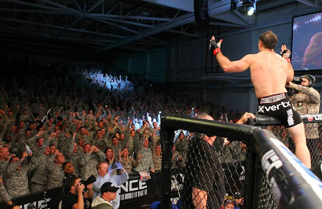 UFC Fight for the Troops - Tim Kennedy thanking the US army