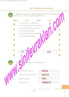 6.Sinif  Turkce Doku Yayinlari Ogrenci Calisma Kitabi Sayfa 61