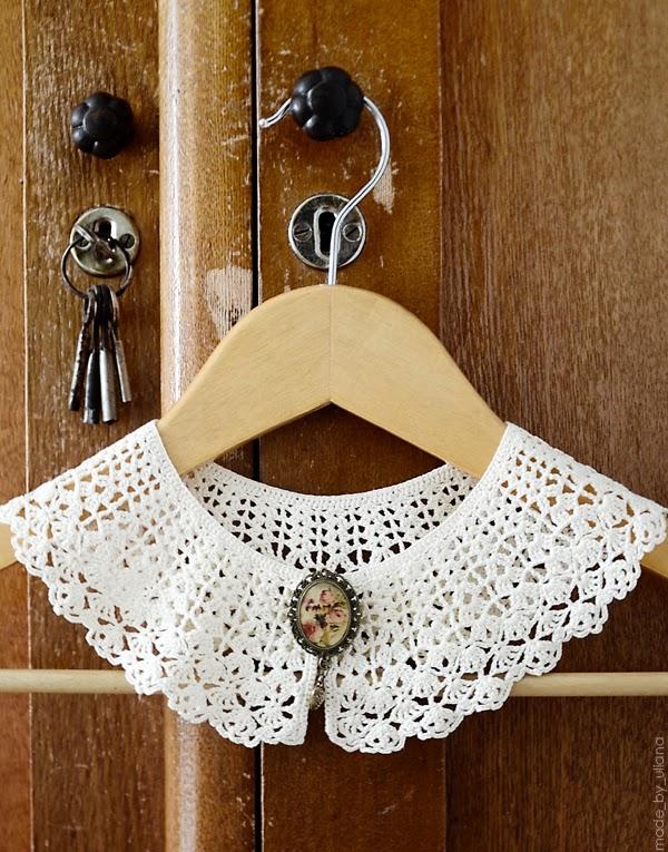 My handmade life: crochet collar