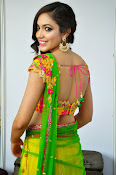 Reetu varma sizzling in half saree-thumbnail-13
