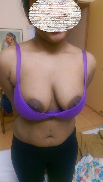 desi housewife removes bra breasts nipple cleavage