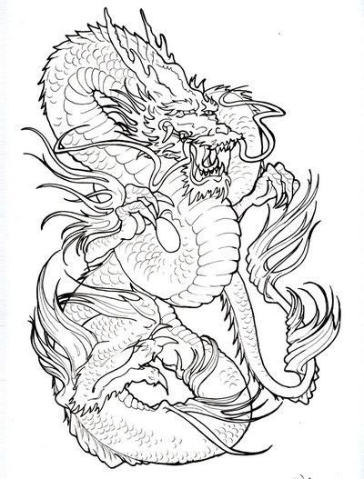 Gambar Tattoo Naga Tribal