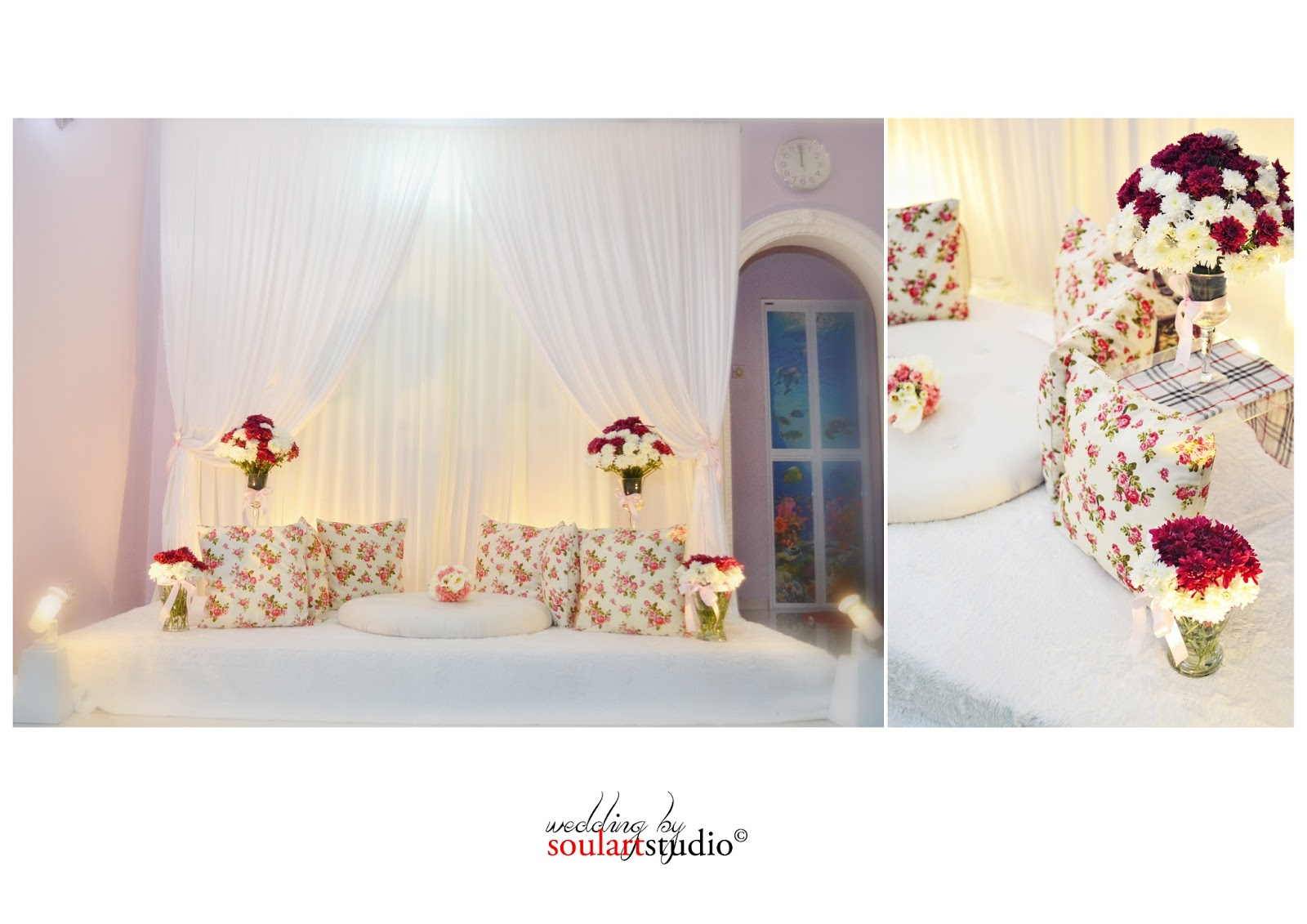 Mini Pelamin Tunang Simple Nice Concept