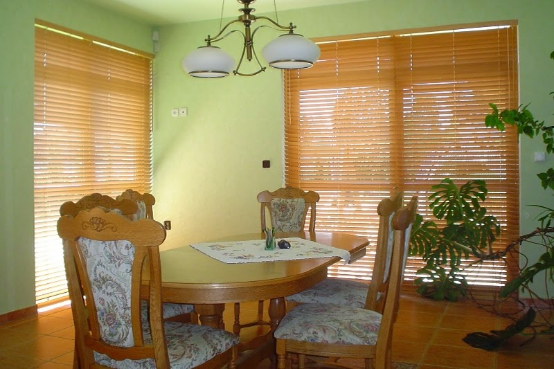 Dining Room Bamboo Interior Design Ideas