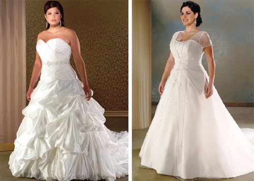 Cheap plus size wedding dresses middot more bridal dresses with sleeves