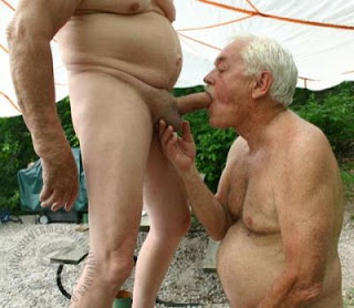 Old man grandpa naked gay