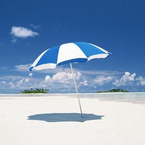 Voglio mollare tutto e cambiare vita: questo ombrellone è perfetto per descrivere un anno sabbatico