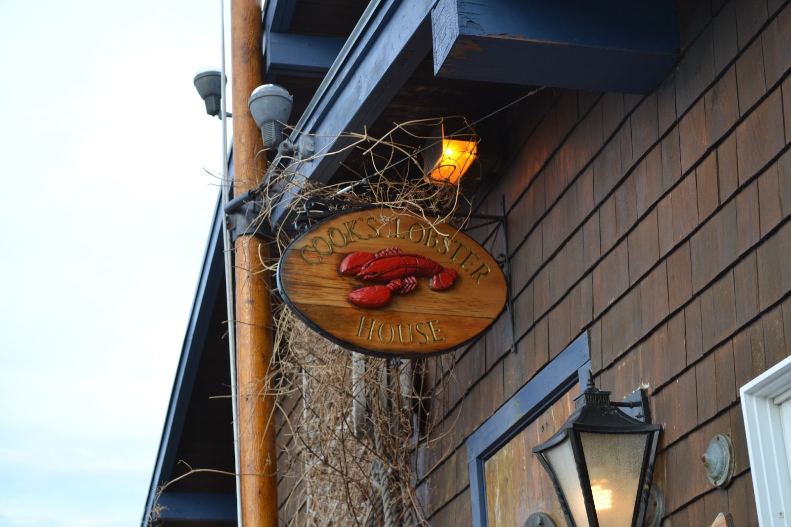 Hardly Housewives: Cook's Lobster House and a Baby