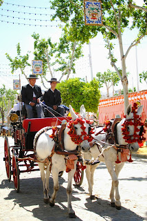 Seville Fair in andalusian