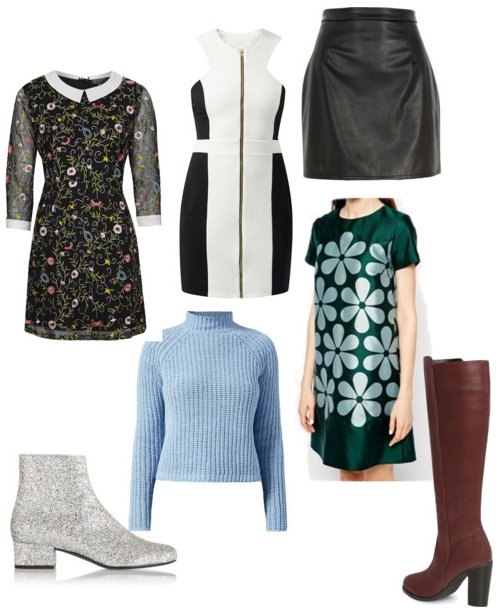 AW14 Sixties Trend Collage