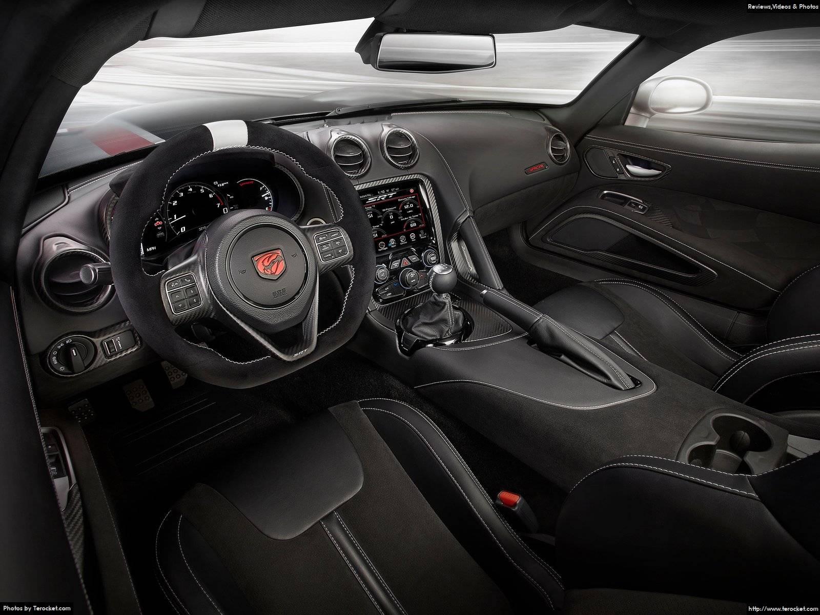 Hình ảnh siêu xe Dodge Viper ACR 2016 & nội ngoại thất
