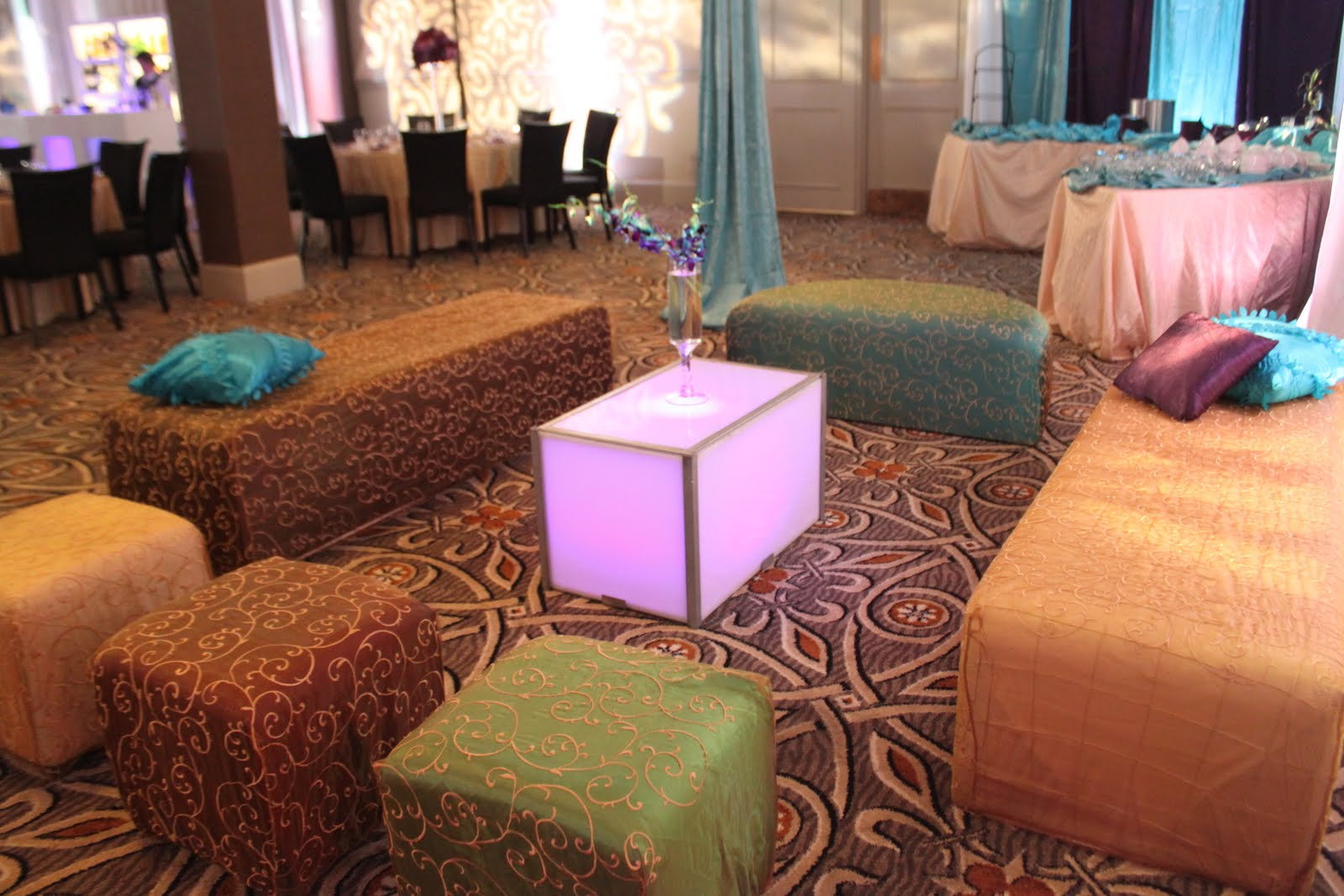 Lakewood country club event with our moroccan loungeunique lighting drapingstable cloth chargers and flowers. & Lakewood country club event with our moroccan loungeunique lighting ...