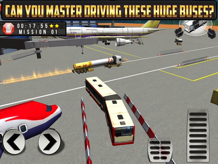 Bus Parking Simulator - Airport Bendy Bus Free Edition App iTunes App By Play with Friends - FreeApps.ws