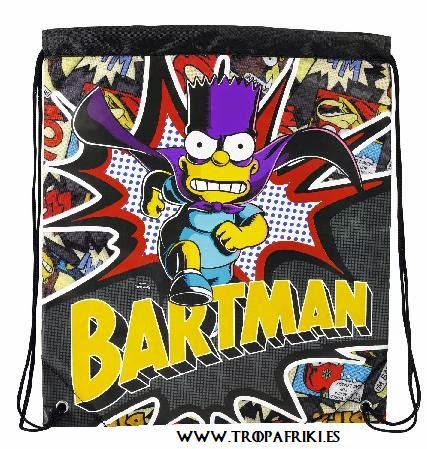 Bolsa de cuerdas Bart- batman de Los Simpsom 14,95€