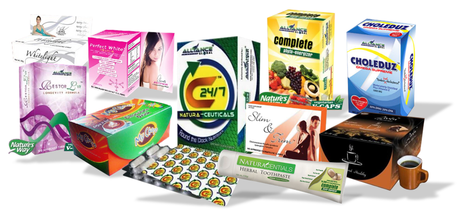 Price List of Aim Global Products Products Price List