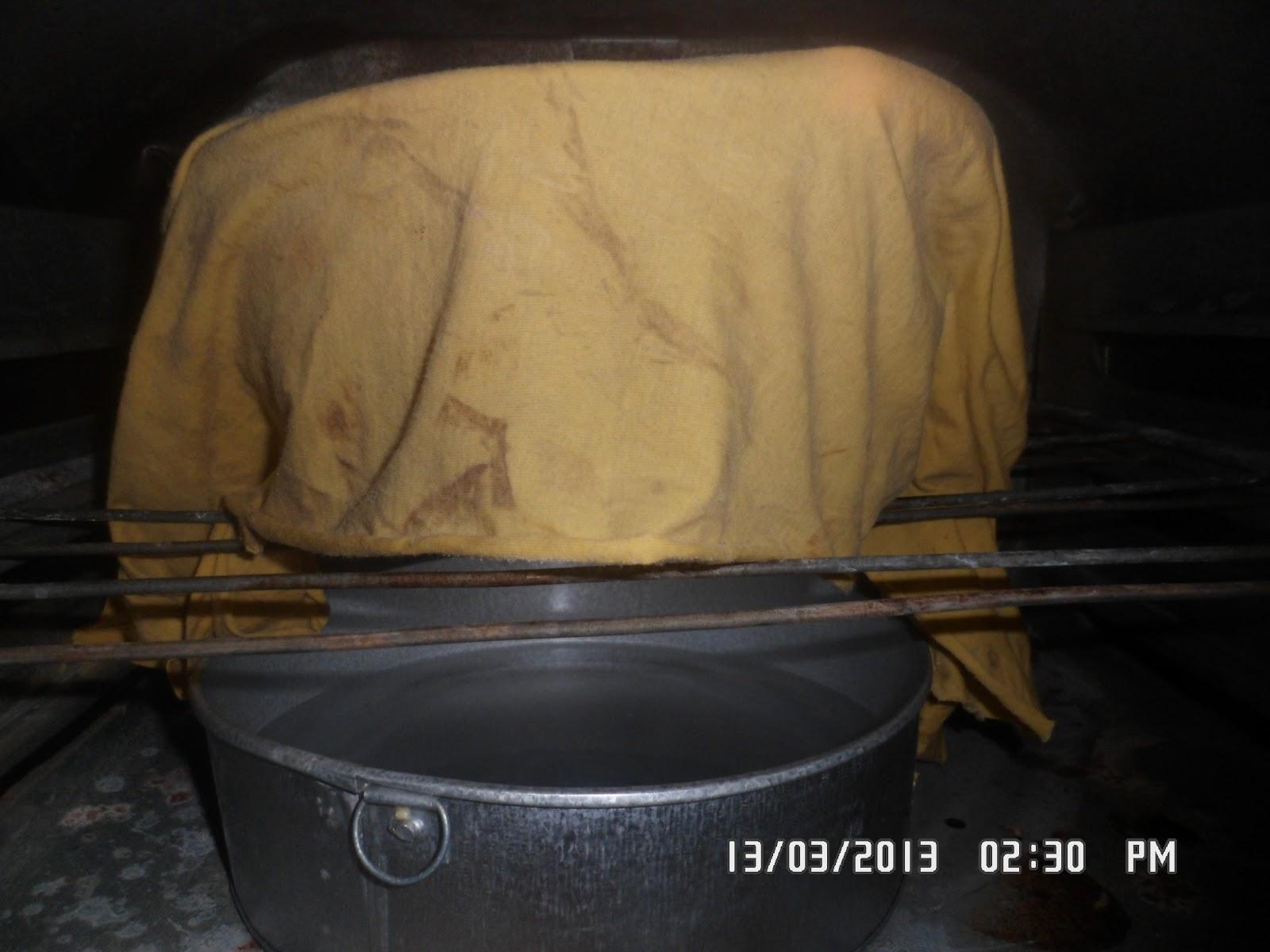 proofing dengan oven