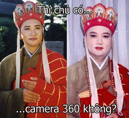 Ảnh chế Đường Tăng - Thú chủ có camera 360 không ?
