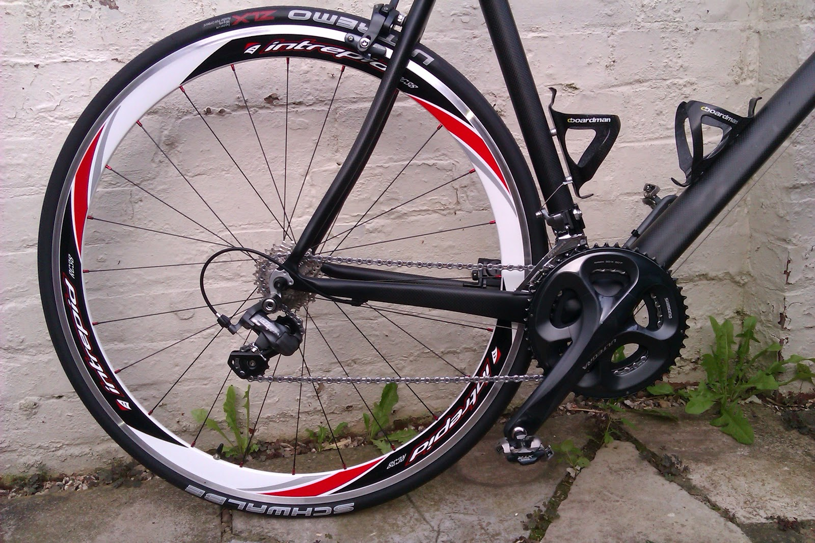 ultegra groupset schwalbe ultremo tyres intrepid wheels what could go wrong