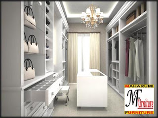 Setting Interior Furniture Wardrobe
