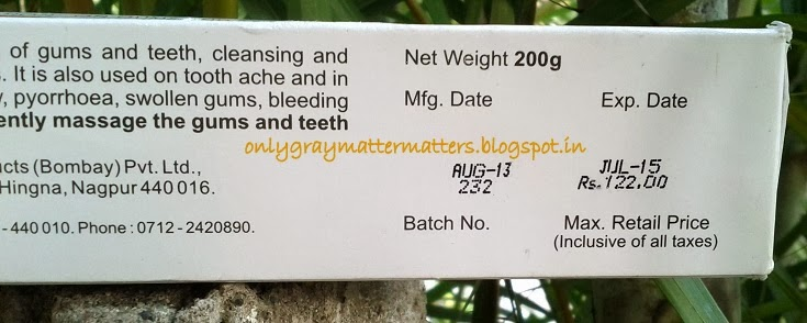 vicco vajradanti ayurvedic toothpaste price quantity india