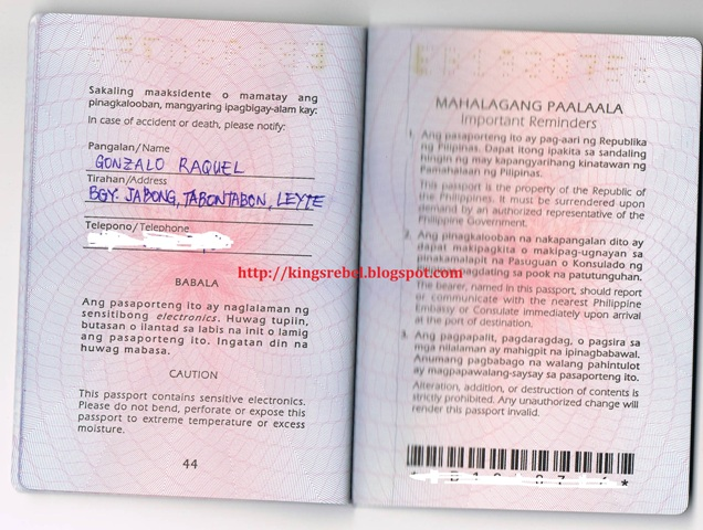 Tidbits and bytes how to apply for passport in the philippines ccuart Image collections
