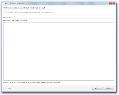partitioning hard disk