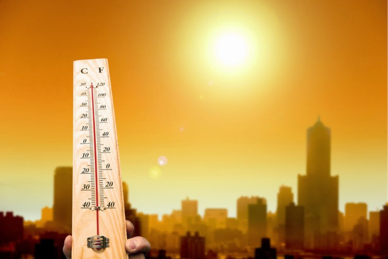The world's urban areas have experienced significant increases in heat waves over the past 40 years. (Credit: © Tom Wang / Fotolia) Click to Enlarge.