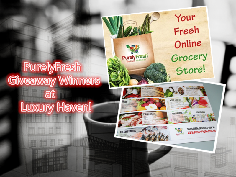 purelyfresh online grocery shopping promotion