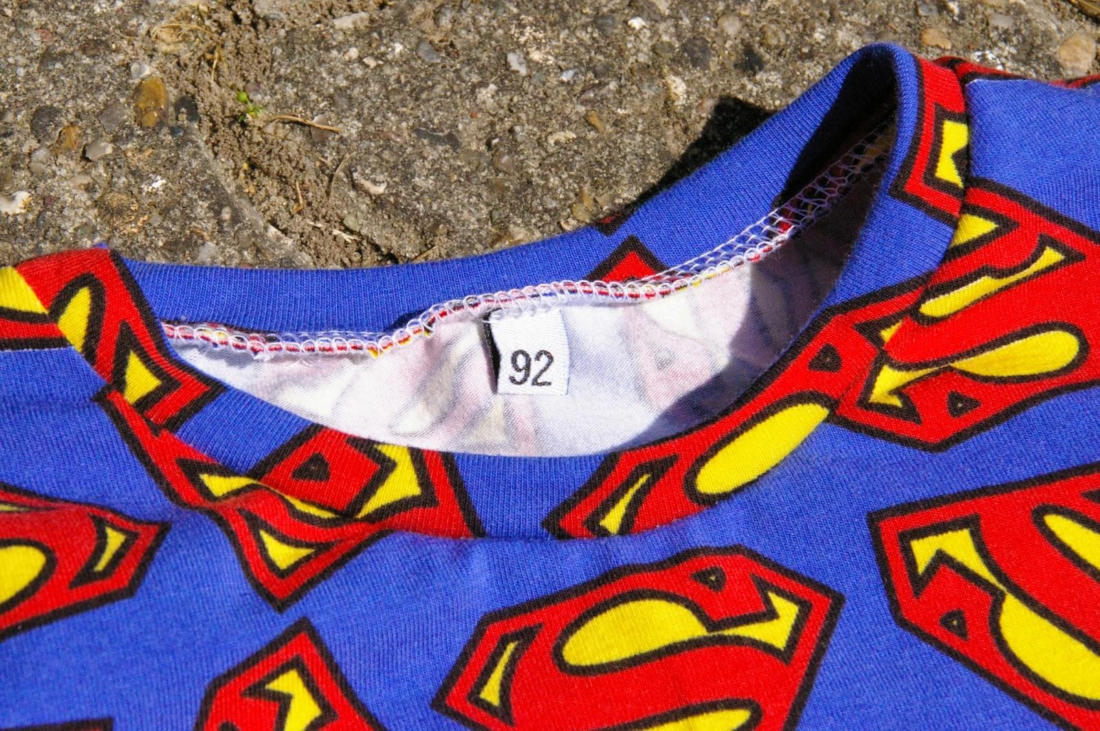 Fru Flittig Superman Boys Month Bluse YUYFgqrx