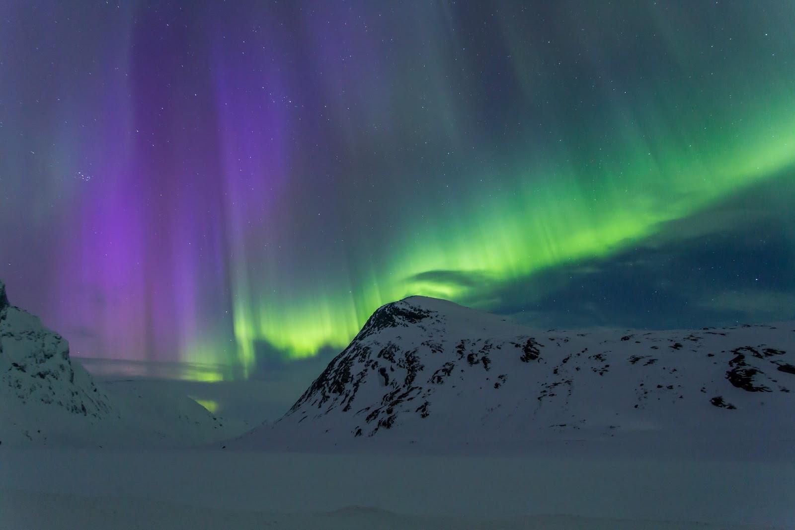 Naturbilder Nordlys Skj 229 K