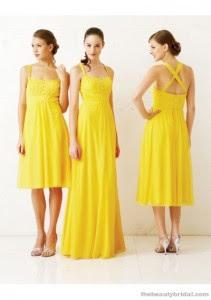 Fotos e imagens de Vestidos de Amarelos Longos