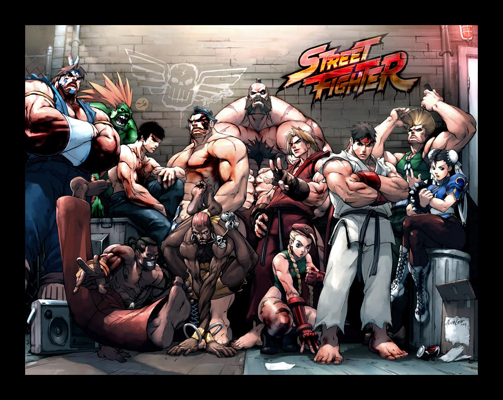 Street Fighter HD & Widescreen Wallpaper 0.437525772763522