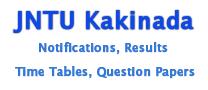 JNTU Kakinada I B.Tech R10 Regular and Supplementary Results