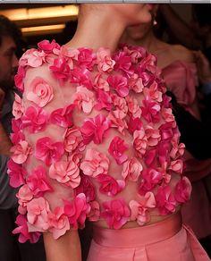 Oscar de la renta, spring, pink