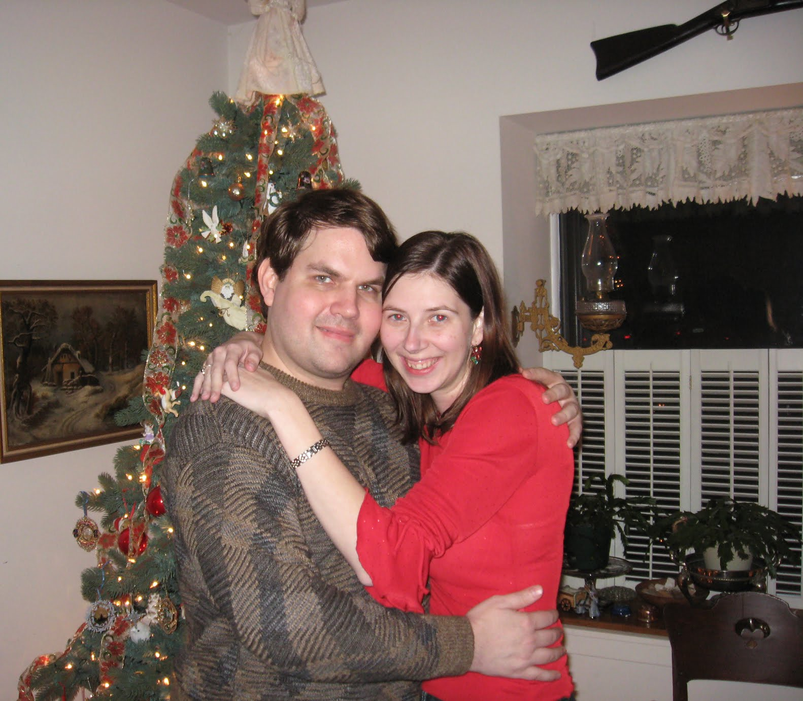 Our first Christmas together ~ The Knight Shift