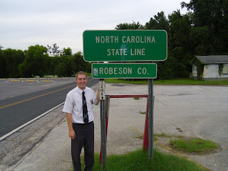 At the border of South Carolina