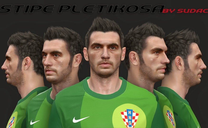 PES 2014 Stipe Pletikosa Face by sudac