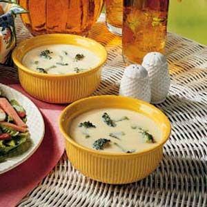 Broccoli Cheddar Soup - Source: Taste of Home