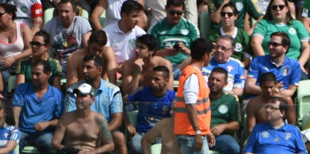 Palmeiras pode ter maior média de público contra o Flamengo (Foto: Sergio Barzaghi/Gazeta Press)