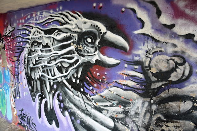 Graffiti St. Julians eagle