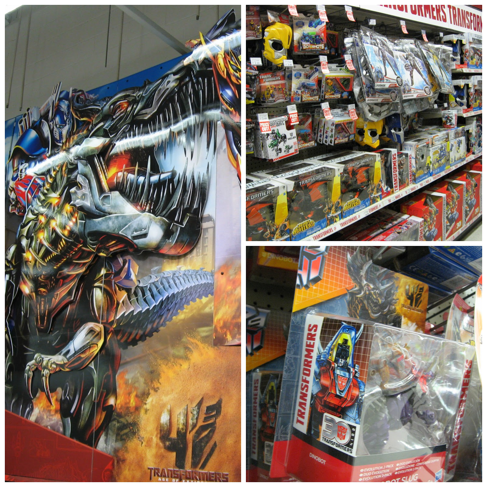 Transformers 4 Age of Extinction at Toys R Us Northampton